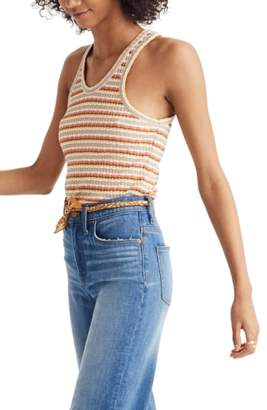 Madewell Ribbed U-Neck Tank Top