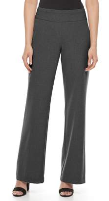 Dana Buchman Women's Midrise Wide-Leg Pull-On Pants