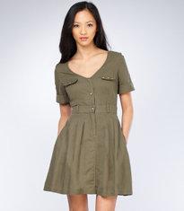 G.I. Jane Studded Dress