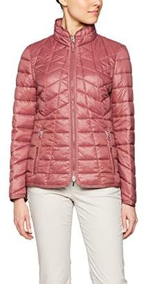 Gerry Weber Women's 95040-31967 Quilted Long Sleeve Coat,(Manufacturer Size:38)