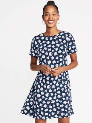 Old Navy Crepe A-Line Shift Dress for Women