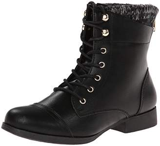 Wild Pair Women's Peeta Combat Boot