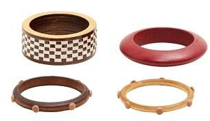 MANGO Pack wooden bracelets
