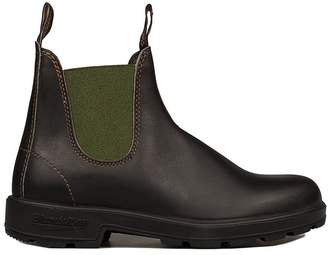 Blundstone Brown/green Leather Low Boot