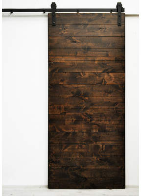 URBAN RESEARCH Dogberry Collections Latitude Wood 1 Panel Interior Barn Door