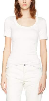 Ichi Zola Women Tops Short Sleeve Scoop Neck T Shirt