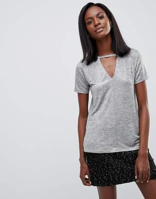 Oasis Foil Choker T-Shirt