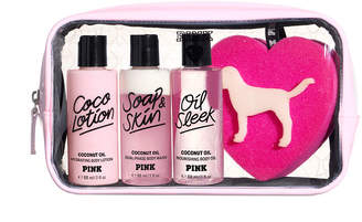 PINK Coconut Oil Body Care Gift Set