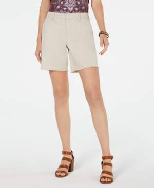 Style&Co. Style & Co Released-Hem Relaxed-Fit Shorts, Created for Macy's
