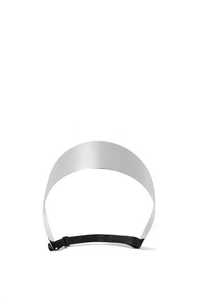GivenchyGivenchy - Mirrored Silver-tone Headband - one size
