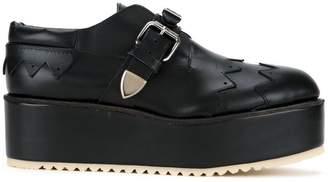 Julien David buckled loafers