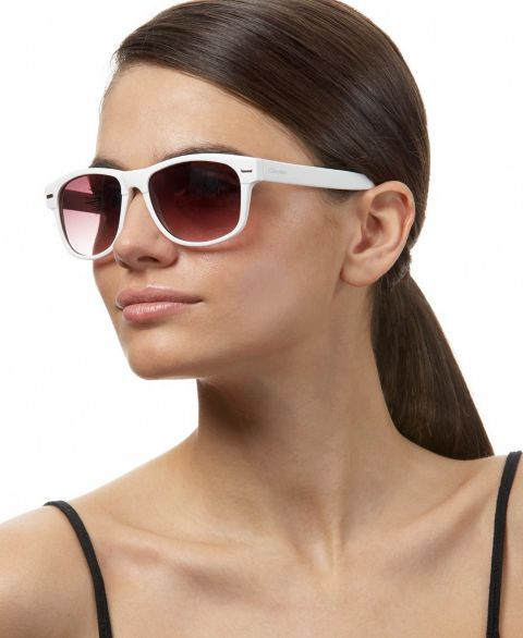 Calvin Klein Retro Plastic Sunglasses