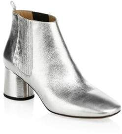 Marc Jacobs Rocket Metallic Leather Chelsea Boots