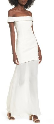 Women's Stone Cold Fox Fairview Off The Shoulder Gown $360 thestylecure.com