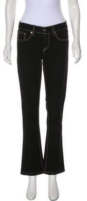 Ralph Lauren Low-Rise Bootcut Jeans