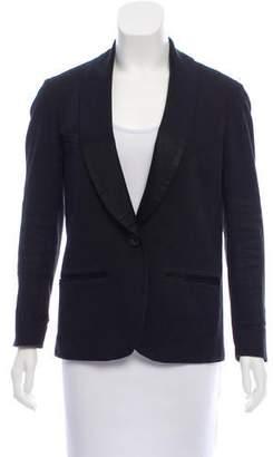 Etoile Isabel Marant Silk Shawl Lapel Jacket