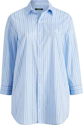 Ralph Lauren Cotton-Blend Sleep Shirt