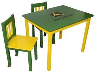 John Deere Kids Table & Chairs Set, Multiple Colors