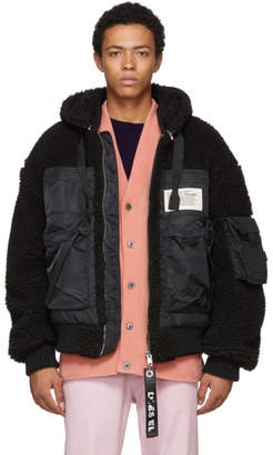 Diesel Black W-Patty Jacket