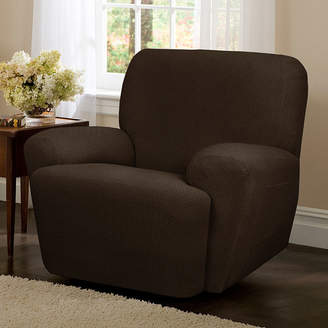 Maytex Mills Maytex Smart Cover Torie Medallion Stretch 4 Piece Recliner Chair Furniture Cover Slipcover