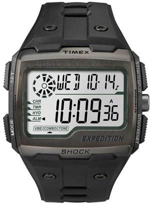 Men's Timex Resin Digital Watch, 50Mm $100 thestylecure.com
