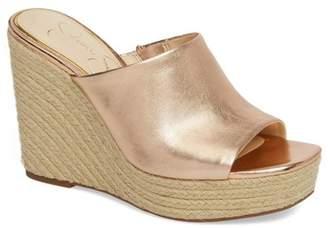 Jessica Simpson Sirella Platform Wedge Slide Sandal