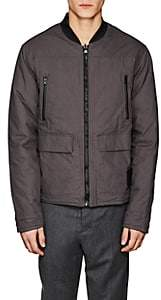 Blank NYC Blanknyc Men's Reversible Cotton Bomber Jacket - Black Size S
