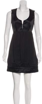 Stella McCartney Ruche-Accented Mini Dress