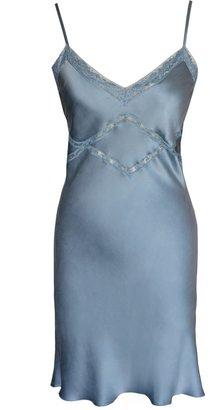Lily Ashwell Shiva Slip Dress - Mist Silk