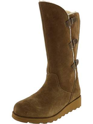 f714994d63c76 BearPaw Womens Hayden Winter Boot Hickory Size 10