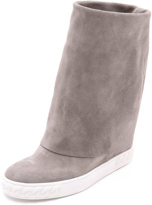 Casadei Suede Fold Over Boots $650 thestylecure.com