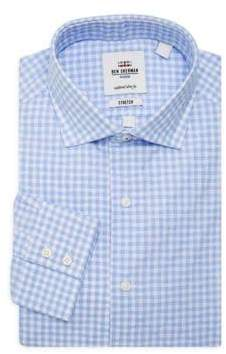 Ben Sherman Slim-Fit Check Button-Down Shirt