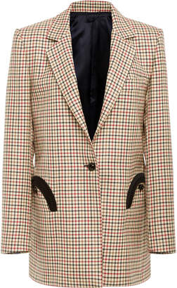 Blazé Milano George Checked Wool Blazer