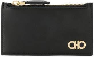 Salvatore Ferragamo double gancio zipped wallet