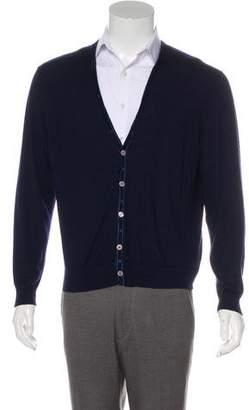 Stefano Ricci Long Sleeve Button-Up Cardigan