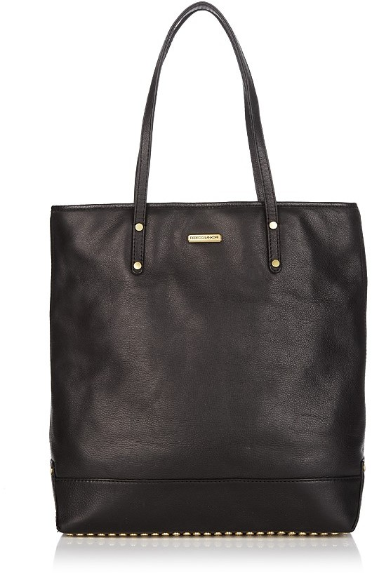 Rebecca Minkoff Heavy Metal Studded Leather Tote