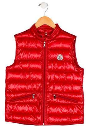 Moncler Boys' Gui Puffer Vest