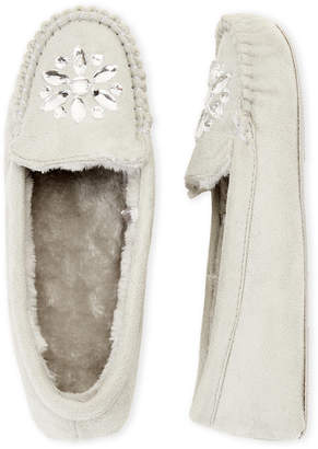 Collection XIIX Embellished Moccasin Slippers