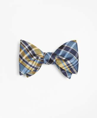 Brooks Brothers Plaid Bow Tie