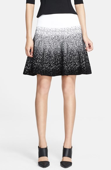 A.L.C. Chenille Flared Skirt