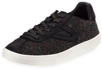 Tretorn Glittered Knit Platform Sneaker