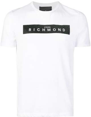 John Richmond logo patch T-shirt