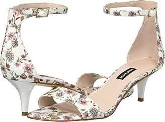 Nine West Women's Leisa Fabric Heeled Sandal
