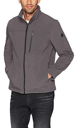 Calvin Klein Men's Soft Shell Jacket Detail