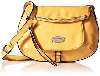 Nine West Yellow Leather Flappy