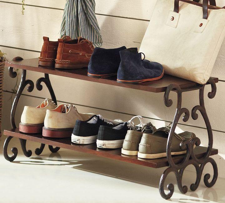 Pottery Barn Moran Shoe Rack