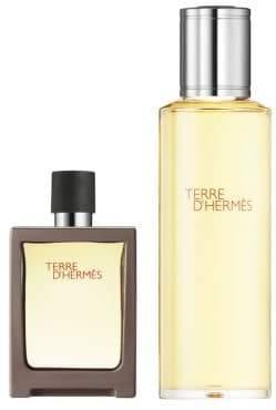 Hermes Terre d'Hermes Eau de Toilette Two-Piece Travel Spray Set