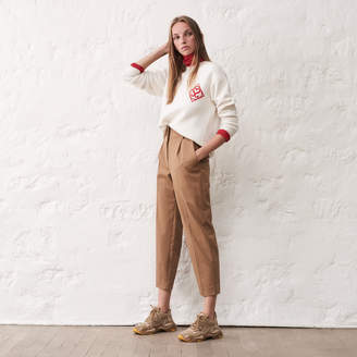 Sandro High-waisted tailored trousers