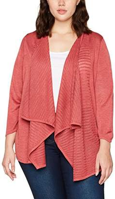 Evans Women's Pointelle Cardi Cardigan,(Manufacturer Size: /20)
