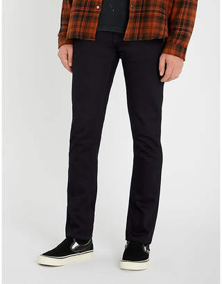 Nudie Jeans Grim Tim slim-fit tapered jeans